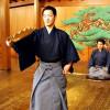 FOTO: Nō teātrītis Ōsakā